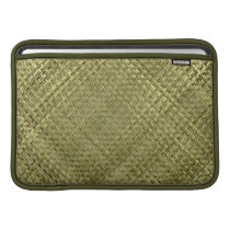 Orient Bamboo Weave Pattern Sleeve For MacBook Air