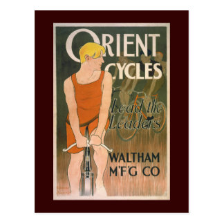Orient Cycles Vintage Bicycle Gift Postcard
