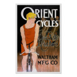 Orient Cycles Vintage Poster by Penfield