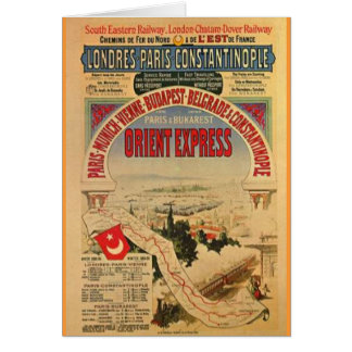 Orient Express Greeting Card