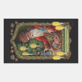 Orient Express Santa Stickers