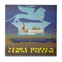 Orient Express Venice Poster tiles