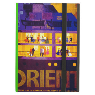 Orient Line ~ Party on Deck iPad Air Cover