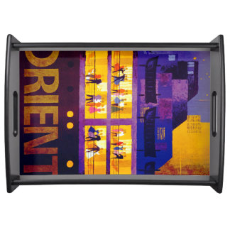 Orient Line ~ Party on Deck Serving Tray