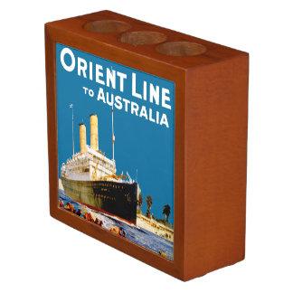 Orient Line to Australia Desk Organizer