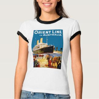Orient Line to Australia T-Shirt