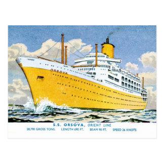 Orient Line's Orsova Postcard