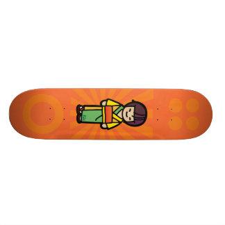 orient ollie. skateboard deck