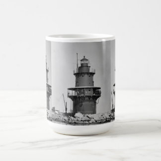 Orient Point Lighthouse Classic White Coffee Mug