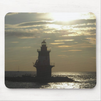 Orient Point Lighthouse Sunset 3 Mouse Pad