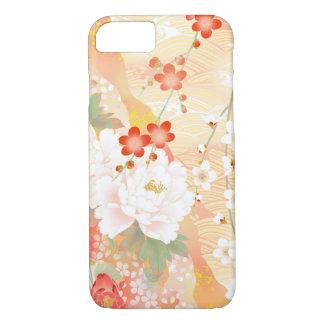 Oriental Accent Japanese Floral Soft Colors iPhone 8/7 Case