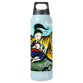 Oriental and Tiger Graffiti Thermal Bottle