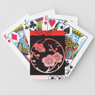 Oriental Apple Blossom Playing Cards