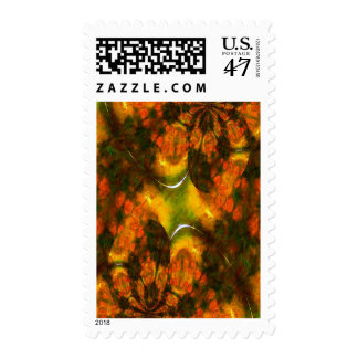 Oriental Asian Abstract Postage