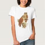 Oriental Bay Owl T-shirts