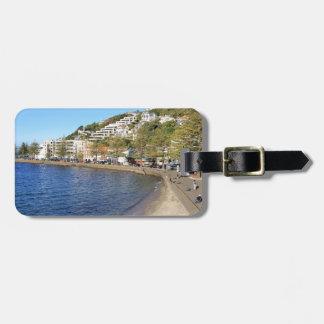 Oriental Bay Wellington Harbour Luggage Tag