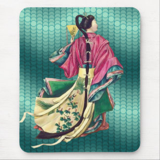 Oriental Beauty Mouse Pad