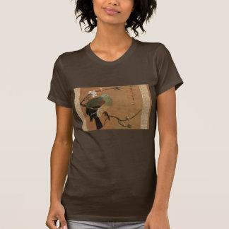 Oriental bird on a branch T-Shirt