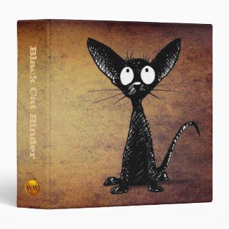 Oriental Black Cat Lover Binder