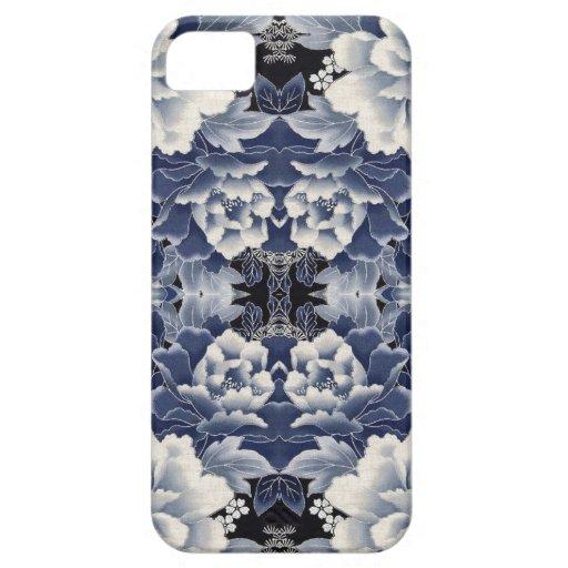 Oriental Blue iPhone 5 Case