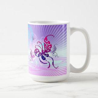 Oriental Butterflies Mug