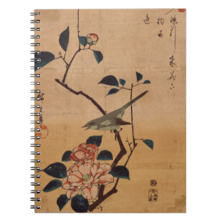 Oriental Camellia and Warbler Notebook