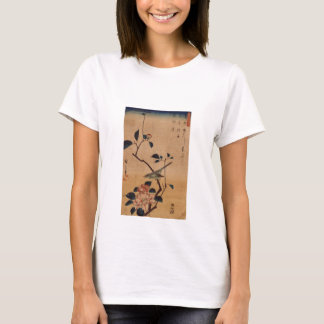 Oriental Camellia and Warbler T-Shirt