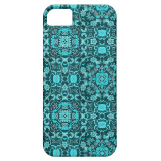 Oriental Carpet: Teal iPhone SE/5/5s Case