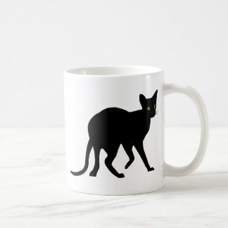 Oriental Cat Classic White Coffee Mug
