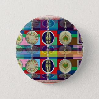 Oriental Chinese : Little HEARTS Decorations Pinback Button