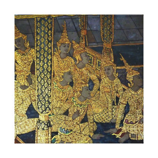 ORIENTAL CLASSIC MURAL GALLERY WRAPPED CANVAS