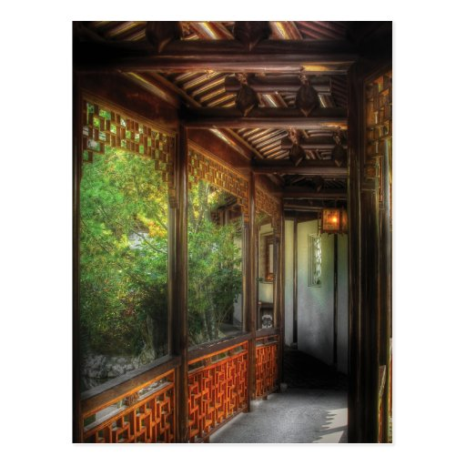 Oriental - continúe encendido tarjeta postal