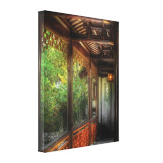 Oriental - Continue On Gallery Wrapped Canvas