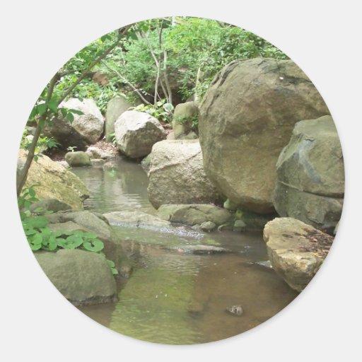 Oriental cultiva un huerto pegatina