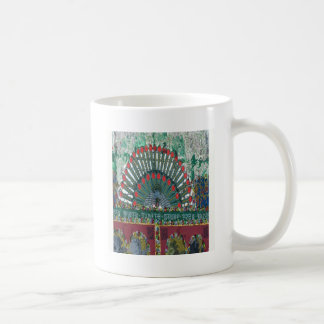 oriental design coffee mug