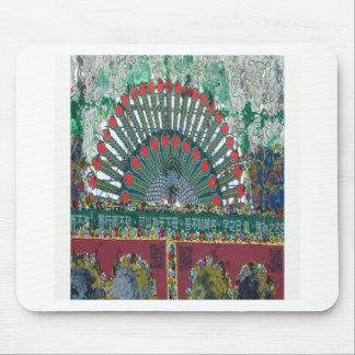 oriental design mouse pad