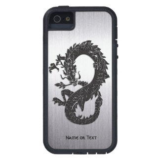 Oriental Dragon Black iPhone SE/5/5s Case