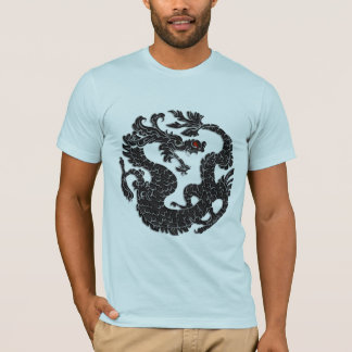 Oriental Dragon Black T-Shirt