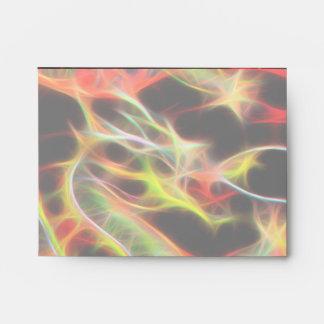 Oriental Dragon Fire on Lucky Energy Envelope