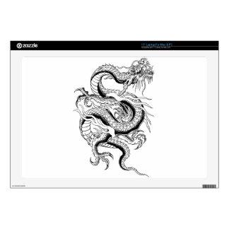 """Oriental Dragon 17"""" Laptop Skins"""