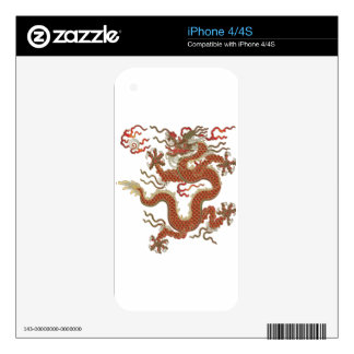 Oriental Dragon Skins For iPhone 4S