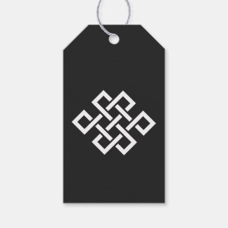 Oriental Elegance in Black Gift Tag Pack Of Gift Tags