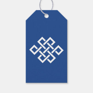 Oriental Elegance in Blue Gift Tag Pack Of Gift Tags