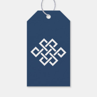Oriental Elegance in Navy Gift Tag Pack Of Gift Tags