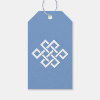 Oriental Elegance in Periwinkle Gift Tag Pack Of Gift Tags