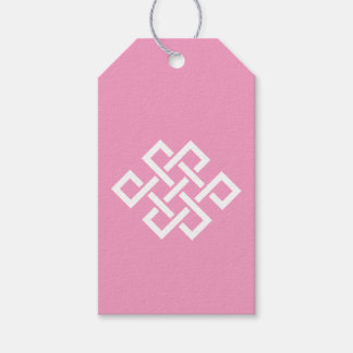 Oriental Elegance in Petal Pink Gift Tag Pack Of Gift Tags