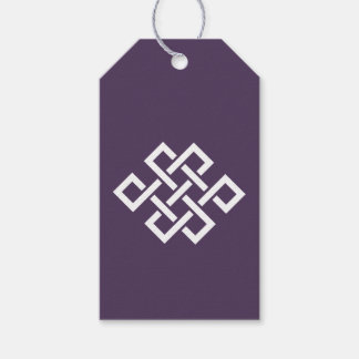 Oriental Elegance in Purple Gift Tag Pack Of Gift Tags