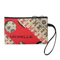 Oriental expression change purse