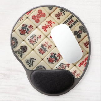 Oriental expression gel mouse pad