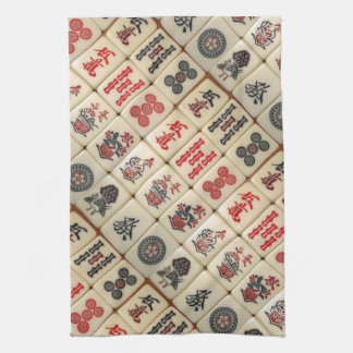 Oriental expression hand towels